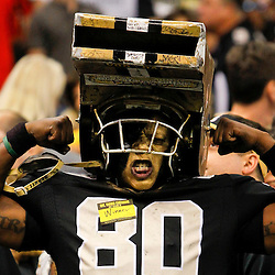 September 23, 2012; New Orleans, LA, USA; New Orleans Saints fan Leroy Mitchell known as Whistle Monster during the second half of a game against the Kansas City Chiefs at the Mercedes-Benz Superdome. The Chiefs defeated the Saints 27-24 in overtime. Mandatory Credit: Derick E. Hingle-US PRESSWIRE