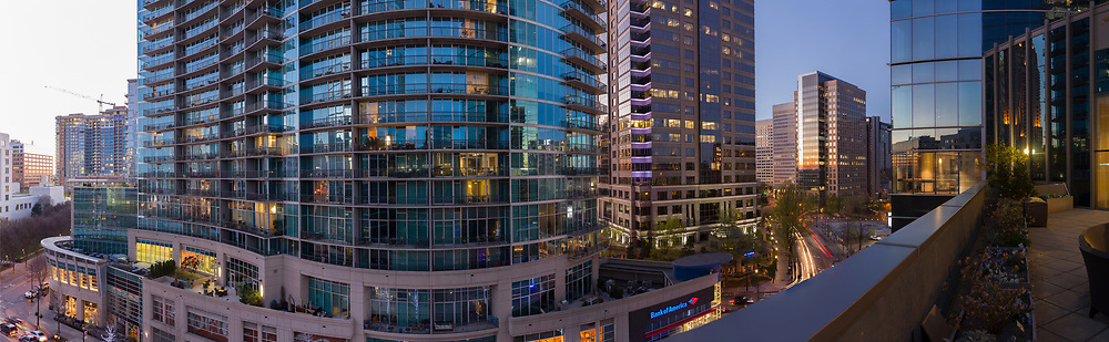 high resolution panorama of Midtown Atlanta March 2017 photo credit; Ellis Vener