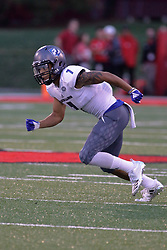 NORMAL, IL - September 08: Aaron Gooch during 107th Mid-America Classic college football game between the ISU (Illinois State University) Redbirds and the Eastern Illinois Panthers on September 08 2018 at Hancock Stadium in Normal, IL. (Photo by Alan Look)