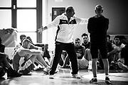 Ettore Messina<br /> Raduno Nazionale Maschile Senior<br /> Allenamento mattina<br /> Folgaria, 26/07/2017<br /> Foto Ciamillo-Castoria/ M. Brondi
