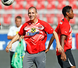 09.08.2011, Wörthersee-Arena, Klagenfurt, AUT, OEFB Training, im Bild Stefan Kulovits (AUT) // during a Trainingssession of the Nationalteam from Austria, W?rthersee Arena, Klagenfurt, 2010-08-09 , EXPA Pictures © 2011, PhotoCredit: EXPA/ O. Hoeher