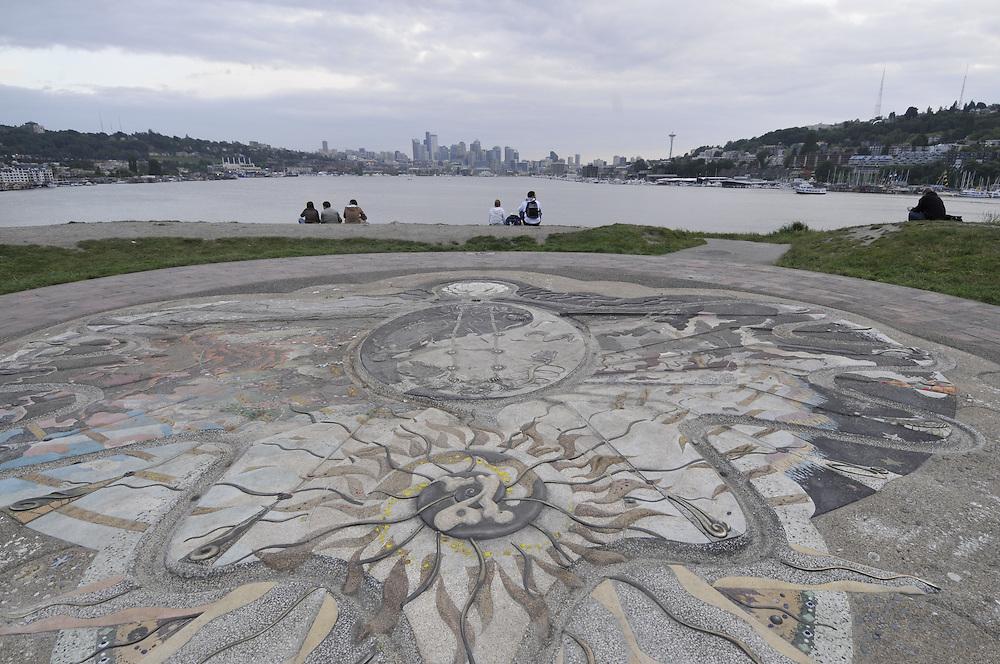 Gasworks Park, Seattle, Washington, USA