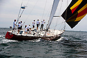 Flying Goose racing at the Newport Bucket Regatta