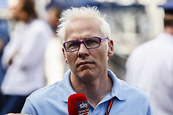 May 23, 2018 - Montecarlo, Monaco - Jaques Villenueve during the Monaco Formula One Grand Prix  at Monaco on 23th of May, 2018 in Montecarlo, Monaco. (Credit Image: © Xavier Bonilla/NurPhoto via ZUMA Press)