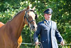 Michael Brauchle, (GER), Carola 83, Cassanova T, Clinton, Jamaika, Shakira - Horse Inspection Driving - Alltech FEI World Equestrian Games™ 2014 - Normandy, France.<br /> © Hippo Foto Team - Leanjo De Koster<br /> 03-09-14