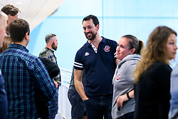 Bristol Flyers fans at the open training session - Mandatory by-line: Robbie Stephenson/JMP - 17/09/2019 - BASKETBALL - SGS Arena - Bristol, England - Bristol Flyers Open Training Session