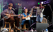 CAMBRIDGE; UK - JULY 31: The Carolina Chocolate Drops perform on stage at Cambridge Folk Festival on July 31st; 2010 in Cambridge; United Kingdom. (Photo by Philip Ryalls/Redferns)**The Carolina Chocolate Drops