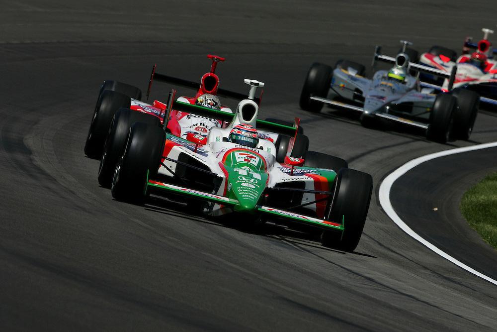 Tony kanaan and Dan Wheldon at the Indianapolis Motor Speedway, Indianapolis 500, May 29, 2005