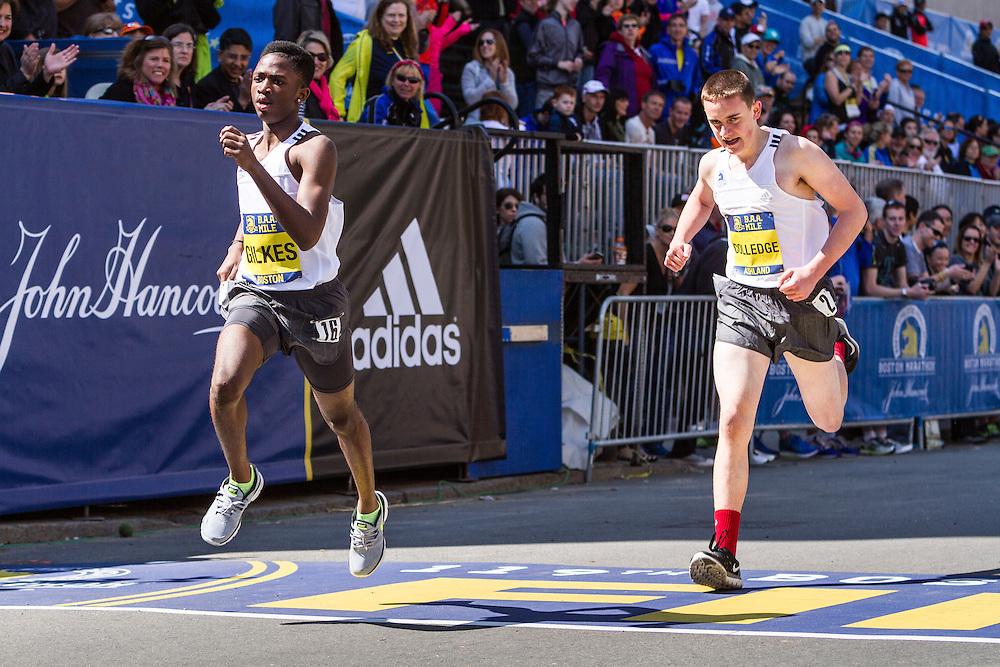 Boston Marathon: BAA Youth 1K road race,