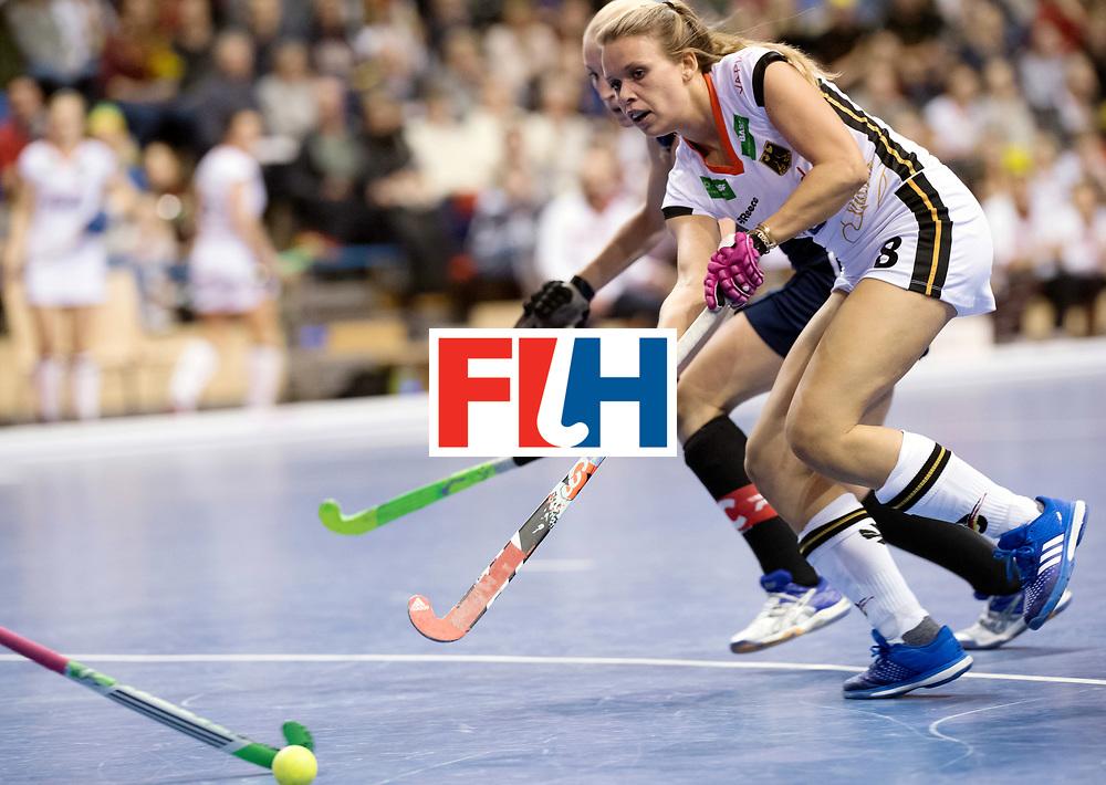 BERLIN - Indoor Hockey World Cup<br /> SF2 Belarus - Germany<br /> foto: Anne Schr&ouml;der <br /> WORLDSPORTPICS COPYRIGHT FRANK UIJLENBROEK