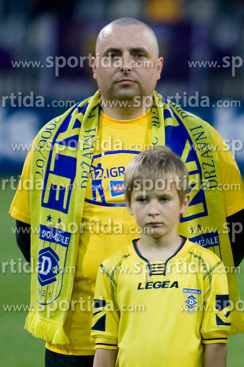Joze Korosec, 12th player of Domzale,  at Final football match  of Hervis Cup between NK Maribor and NK Domzale, on May 8, 2010, played in Ljudski vrt, Maribor, Slovenia. Maribor defeated Domzale after overtime 3-2 and became Slovenian Cup Champion. (Photo by Vid Ponikvar / Sportida)