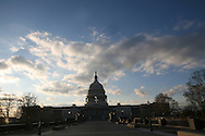 The East Front of the United States Capitol on December 12, 2008. Photograph by Dennis Brack