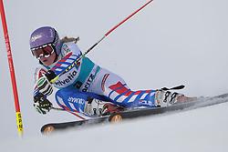 09.12.2012, Engiadina Rennstrecke, St. Moritz, SUI, FIS Ski Alpin Weltcup, Riesenslalom, Damen, 1. Lauf, im Bild Tessa Worley (FRA) // in action during 1st run of ladies Giant Slalom of FIS ski alpine world cup at the Engiadina course, St. Moritz, Switzerland on 2012/12/09. EXPA Pictures © 2012, PhotoCredit: EXPA/ Freshfocus/ Andreas Meier..***** ATTENTION - for AUT, SLO, CRO, SRB, BIH only *****