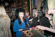 PRINCESS JULIA; JACQUI POTATO, Ponystep - issue 3 launch party, George and Dragon, 2-4 Hackney Road, London, E2.  April 5 2012.