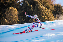 29.12.2018, Stelvio, Bormio, ITA, FIS Weltcup Ski Alpin, SuperG, Herren, im Bild Brice Roger (FRA) // Brice Roger of France in action during his run in the men's Super-G of FIS ski alpine world cup at the Stelvio in Bormio, Italy on 2018/12/29. EXPA Pictures © 2019, PhotoCredit: EXPA/ Johann Groder