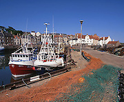Pittemweem Harbour, East Neuk, Fife.