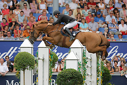 Lejeune Philippe (BEL) - Vigo d'Arsouilles<br /> Fourth in the Rolex Grand Prix of Aachen 2009<br /> Photo © Dirk Caremans