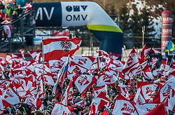 10.01.2015, Kulm, Bad Mitterndorf, AUT, FIS Ski Flug Weltcup, im Bild Fans //during the FIS Ski Flying World Cup at the Kulm, Bad Mitterndorf, Austria on on 2015/01/10. EXPA Pictures © 2015, EXPA/ Dominik Angerer