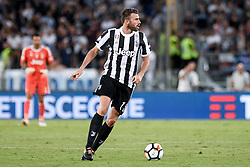 August 13, 2017 - Rome, Italy - Andrea Barzagli of Juventus during the Italian Supercup Final match between Juventus and Lazio at Stadio Olimpico, Rome, Italy on 13 August 2017. (Credit Image: © Giuseppe Maffia/NurPhoto via ZUMA Press)