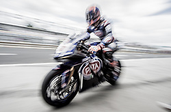 February 25, 2018 - Melbourne, Victoria, Australia - Dutch rider Michael van der Mark (#60) of PATA Yamaha Official WorldSBK Team returns to his garage during the morning warm up on day 3 of the opening round of the 2018 World Superbike season at the Phillip Island circuit in Phillip Island, Australia. (Credit Image: © Theo Karanikos via ZUMA Wire)