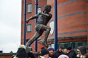 Tony Brown statue during the Premier League match between West Bromwich Albion and Southampton at The Hawthorns, West Bromwich, England on 3 February 2018. Picture by Dennis Goodwin.
