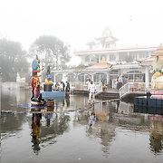 Ganga Talao Lake and Hindu Temple in Mauritius