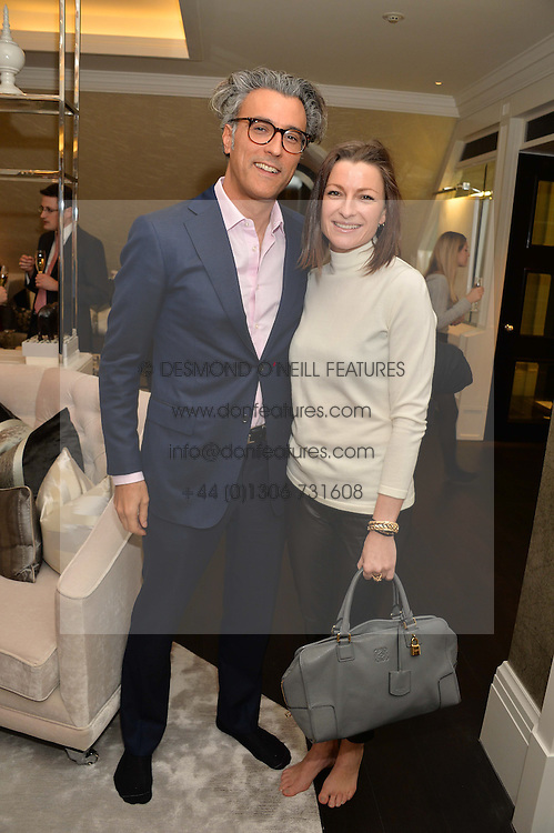 First look of the new Samsung Curved UHD TV at the Candy &amp; Candy penthouse at No. 1 Arlington Street, London - an exclusive Samsung BlueHouse event held on 27th February 2014.<br />