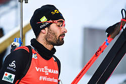 March 10, 2019 - –Stersund, Sweden - 190310 Martin Fourcade of France looks dejected after the Men's 12,5 km Pursuit during the IBU World Championships Biathlon on March 10, 2019 in Östersund..Photo: Petter Arvidson / BILDBYRÃ…N / kod PA / 92255 (Credit Image: © Petter Arvidson/Bildbyran via ZUMA Press)