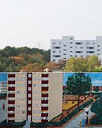 285 Kunst mit Blick auf die Stadt