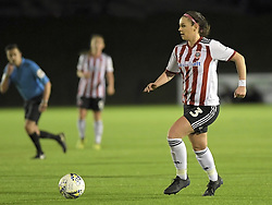 February 20, 2019 - Sheffield, United Kingdom - Sam Tierney (Sheffield United) in possession during the  FA Women's Championship football match between Sheffield United Women and Manchester United Women at the Olympic Legacy Stadium, on February 20th Sheffield, England. (Credit Image: © Action Foto Sport/NurPhoto via ZUMA Press)