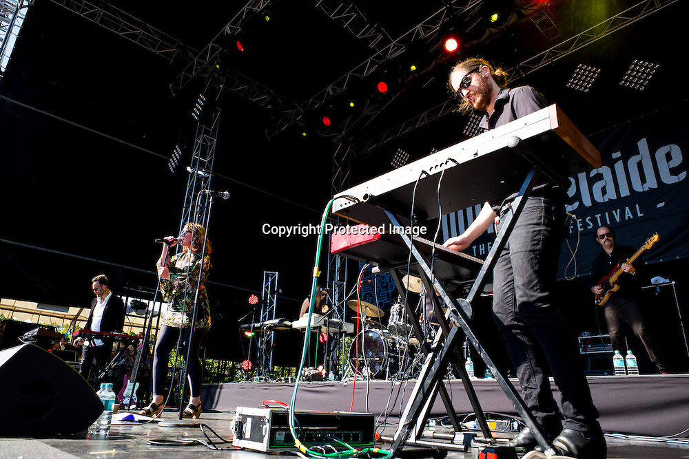 Sarah Blasko performs at Womadelaide 2016 Music Festival held between 11 - 14 March 2016 in Adelaide, South Australia