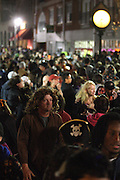 Salem, MA 103109   According to Salem Police Department close to 100,000 people showed up at this city of about 41,000 to celebrate Halloween on October 31, 2009.  (Essdras M Suarez/ ZUMA)
