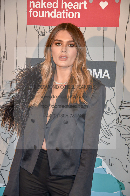 Chloe Lloyd at the Fabulous Fund Fair in aid of Natalia Vodianova's Naked Heart Foundation in association with Luisaviaroma held at The Round House, Camden, London England. 18 February 2019.