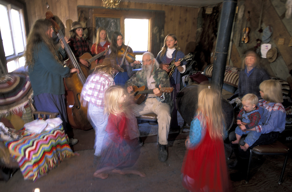 Morning Jam.The Pilgrim Family.Alaska.USA