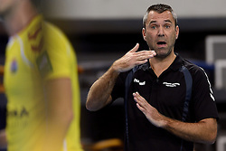 18-10-2014 NED: Draisma Dynamo - Prins/VCV, Apeldoorn<br /> VCV verslaat Dynamo met 3-2 / Jorg Radstake