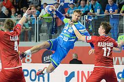 Marko Bezjak of Slovenia during handball match between National teams of Slovenia and Czech Republic on Day 7 in Main Round of Men's EHF EURO 2018, on January 24, 2018 in Arena Varazdin, Varazdin, Croatia. Photo by Mario Horvat / Sportida