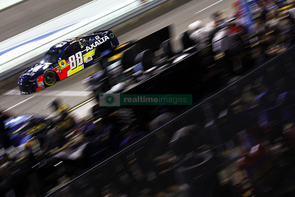 November 16, 2018 - Homestead, Florida, U.S. - Alex Bowman (88) takes to the track to qualify for the Ford 400 at Homestead-Miami Speedway in Homestead, Florida. (Credit Image: © Justin R. Noe Asp Inc/ASP)