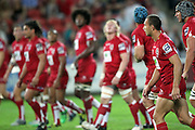 Quade Cooper. Queensland Reds v NSW Waratahs. Investec Super Rugby Round 10 Match, 24 April 2011. Suncorp Stadium, Brisbane, Australia. Reds won 19-15. Photo: Clay Cross / photosport.co.nz