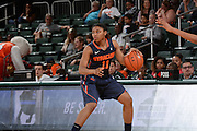February 20, 2014: Cornelia Fondren #11 of Syracuse in action during the NCAA basketball game between the Miami Hurricanes and the Syracuse Orange at the Bank United Center in Coral Gables, FL. The Orange defeated the Hurricanes 69-48.