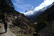 View of Everest. Nepal, 2007 Nepal 2007. Everest Base Camp