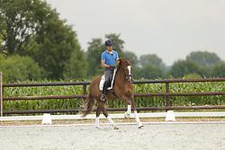HEINZE Sebastian Dressurausbilder und Trainer<br /> Billerbeck - Aufrichtung mit Sebastian Heinze (Langehanenberg) 2014<br /> © www.sportfotos-lafrentz.de/Stefan Lafrentz