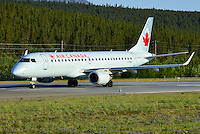 Air Canada Embraer 190 C-FNAO ready for take-off