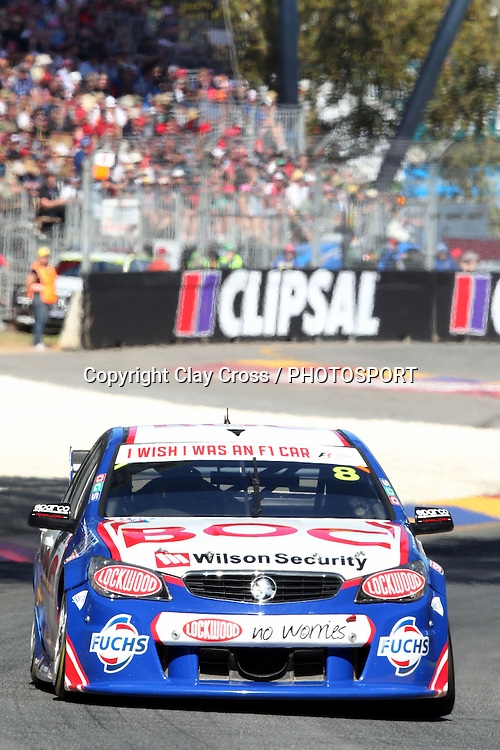 Jason Bright (BOC Racing Holden). 2014 Clipsal 500 Adelaide ~ V8 Supercar Series Race 1 held on the Adelaide Parklands Circuit, South Australia on Saturday 1 March 2014. Photo: Clay Cross / photosport.co.nz