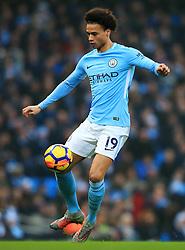 Leroy Sane of Manchester City - Mandatory by-line: Matt McNulty/JMP - 23/12/2017 - FOOTBALL - Etihad Stadium - Manchester, England - Manchester City v Bournemouth - Premier League