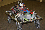 """An image from Lincoln Ward's photographic journal of the FIRST Robotics FRC Team 1716's 2010 """"build"""" season."""