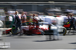 July 8, 2018 - Silverstone, Great Britain - Motorsports: FIA Formula One World Championship 2018, Grand Prix of Great Britain, .#8 Romain Grosjean (FRA, Haas F1 Team) (Credit Image: © Hoch Zwei via ZUMA Wire)