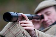 Deer stalker, Glenfeshie, Scotland.