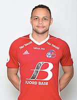 Fotball ,1. divisjon OBOS-ligaen 2018 , portrett , portretter , <br /> Florø<br /> Nicklas Fvenderup
