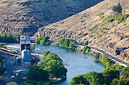 river town in central oregon