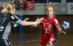 Nina Potocnik of Celje at handball game ZRK Celje Celjske Mesnine vs RK Krim Mercator in final match of Slovenian Handball Cup,  on April 6, 2008 in Arena Golovec, Celje, Slovenia. Krim won the game 31:21 and became Cup Winner.  (Photo by Vid Ponikvar / Sportal Images)